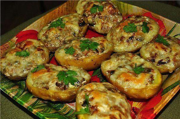 Лодочки из картошки фото