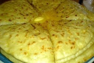 Хичины с сыром и зеленью