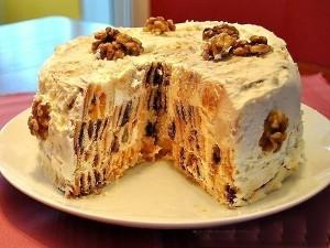 Торт «Трухлявый пень» фото