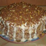 Очень простой тортик Выпускной