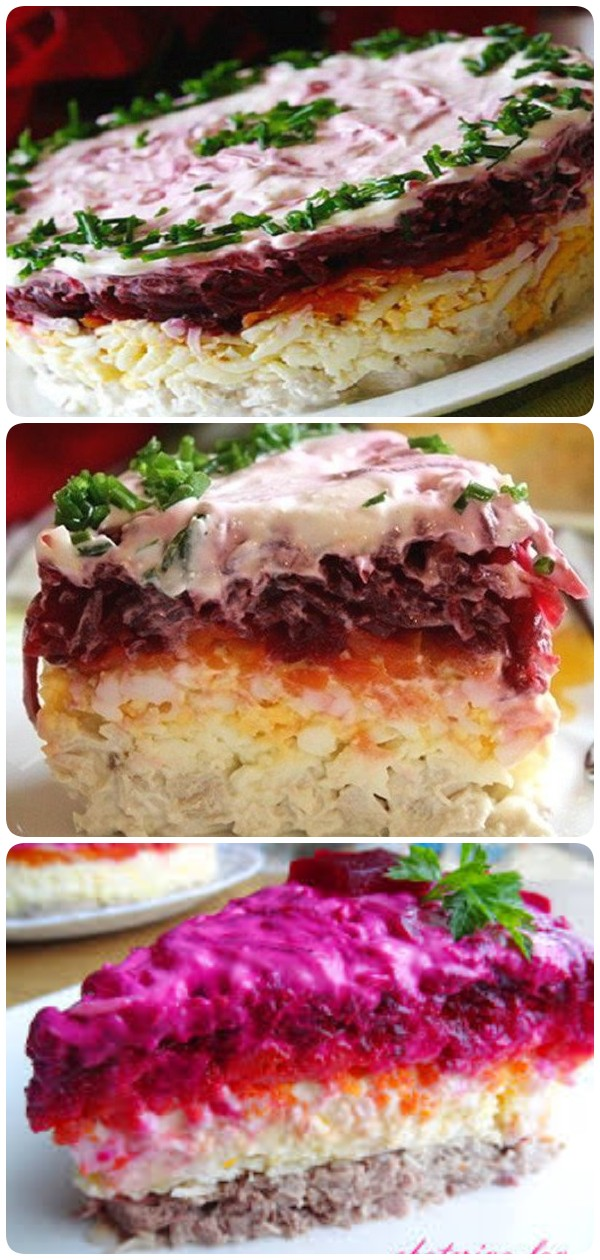 Свекольный салат «Генерал». Вкусно, не то слово! Попробуйте!