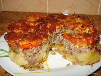 АРОМАТНЫЙ картофель под «шубой». Ммм... стоит попробовать!
