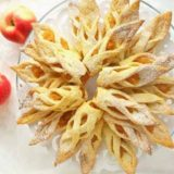 Ажурное печенье с яблоками