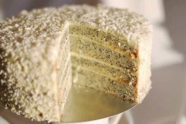 Диетический маковый торт - когда хочется сладенького