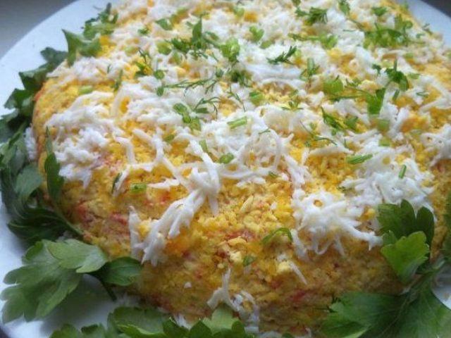 Салат Белый лев- вкуснейший салат для всей семьи