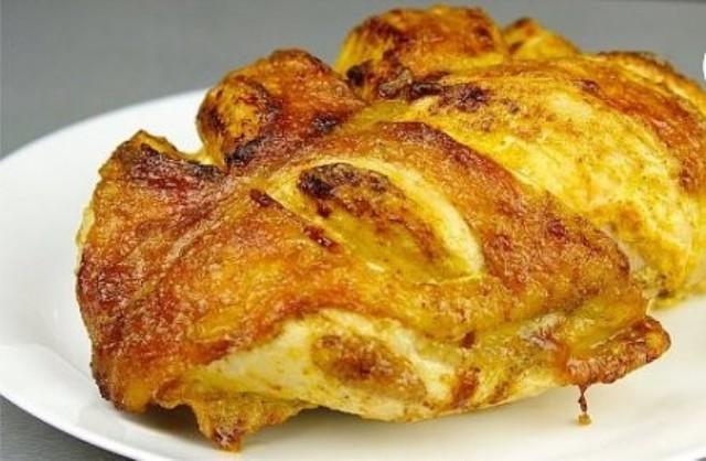 Сочная куриная грудка на праздничный стол