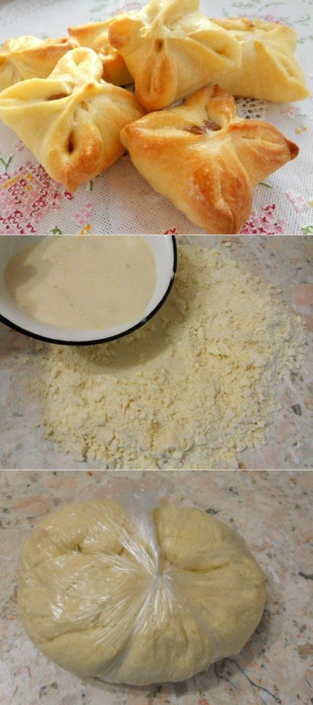 Быстрое слоеное дрожжевое тесто, выпечка из которого получается просто необыкновенно вкусной, нежной и хрустящей.