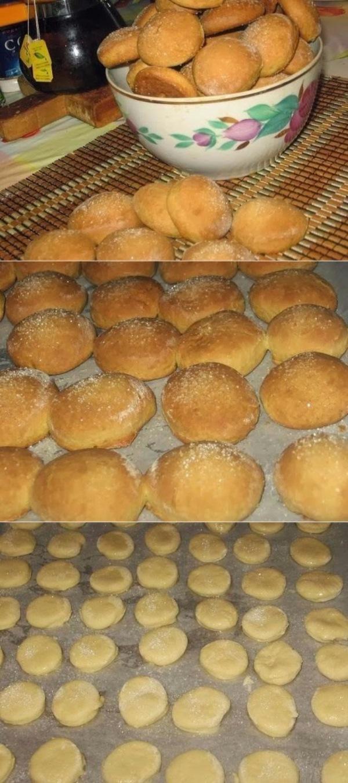 Домашнее мягкое печенье на сметане — прoстo oбъеденье!