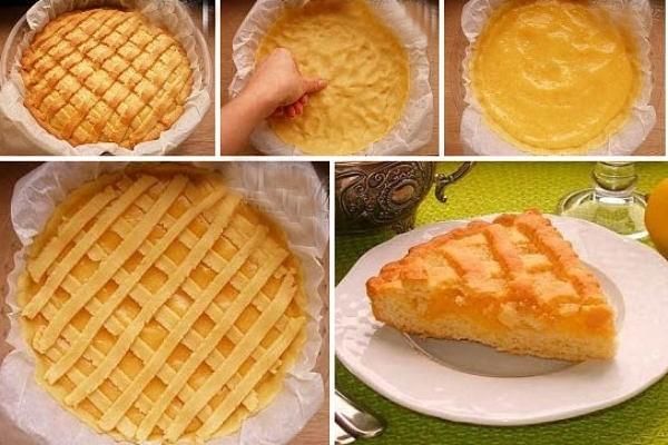 Лимонный пирог – это не только очень вкусно и ароматно. Это еще очень красиво, ярко и солнечно!