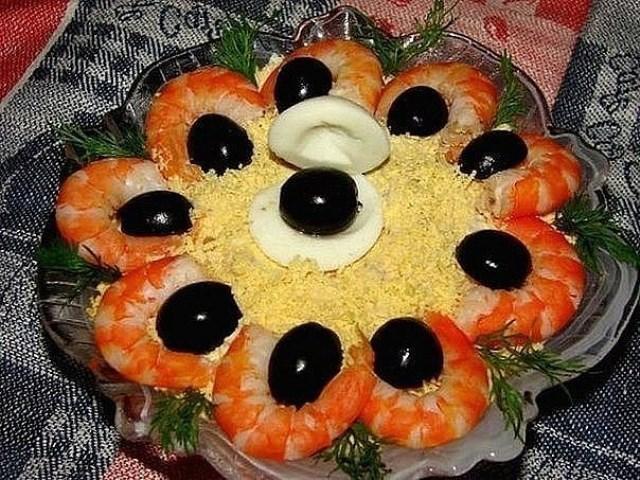 Салат «Черная жемчужина»