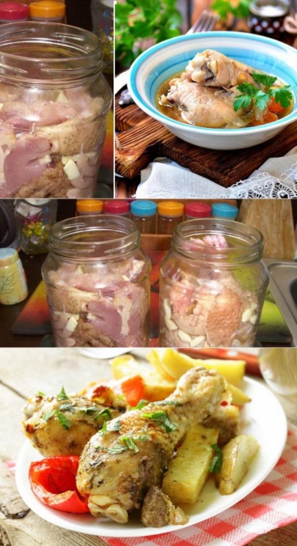 Курица в банке: блюдо, вкус которого в разы лучше, чем в рукаве