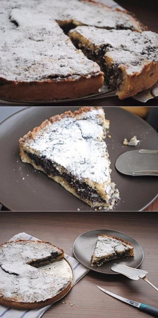 Пирог с маком! Рецепт на БИС!