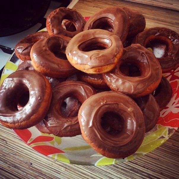 Нежные пончики без дрожжей. Это надо попробовать!