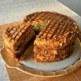 """Мое фирменный домашний торт """"Витязь"""" муж просто обожает. Даю проверенный рецепт."""