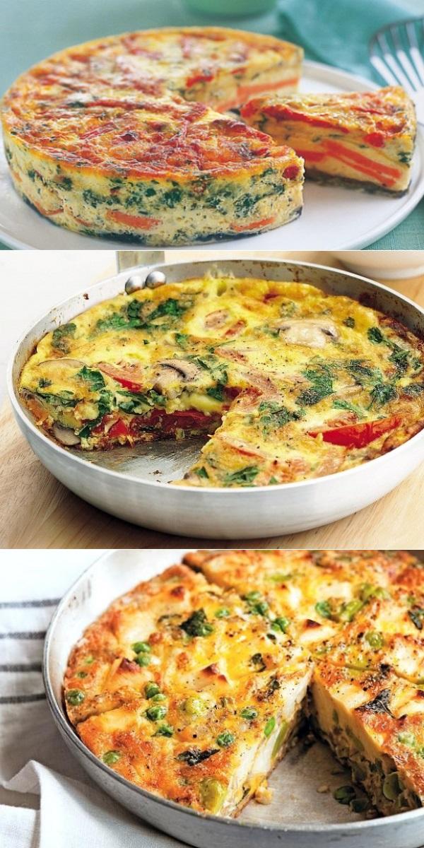 Фриттата — оригинальный итальянский омлет. Восхитительно вкусный завтрак!