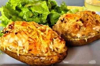 Картофель, фаршированный грибами: НЕВЕРОЯТНО ВКУСНОЕ И ПОЛЕЗНОЕ УГОЩЕНИЕ ДЛЯ ВСЕЙ СЕМЬИ!
