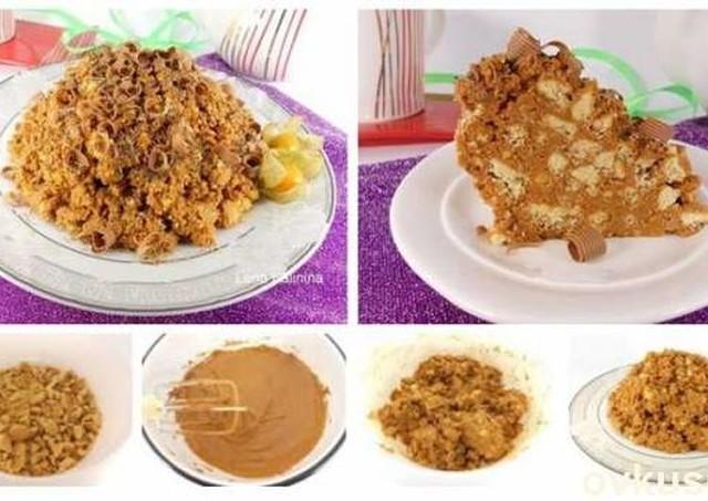 "Торт ""Муравейник"" за 10 минут. Быстро, просто и безумно вкусно!"