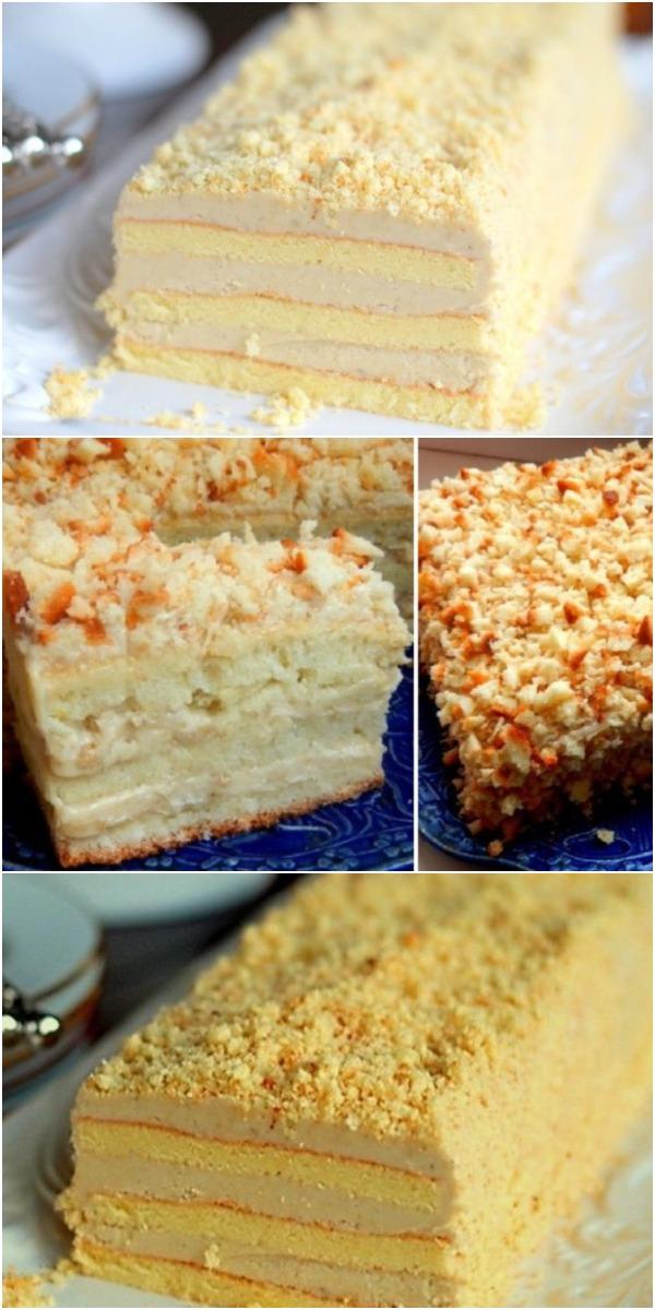 Торт «Славянка» имеет головокружительный успех! Пальчики оближешь, настолько вкусно