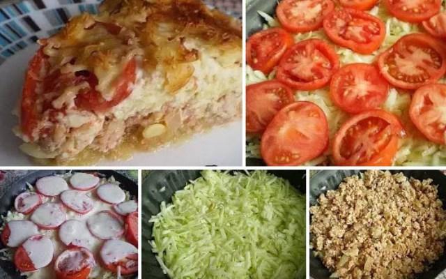 НЕЖНАЯ ЗАПЕКАНКА С КАБАЧКАМИ! Вкуснейший рецепт! Блюдо вне конкуренции! Сохраните себе - точно пригодится.