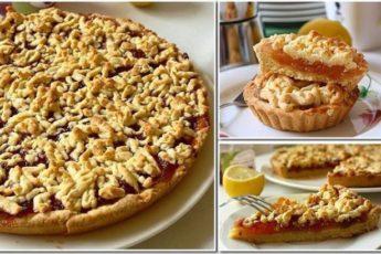 Самый вкусный тертый пирог! Рецепт живет в нашей семье уже не одно поколение.
