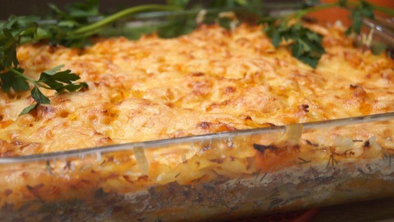 Вкуснейший ужин за считанные минуты! Потрясающе вкусная запеканка из капусты!