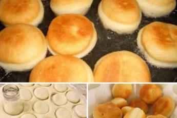Пончики с нереально вкусной начинкой. Уже бегу готовить!