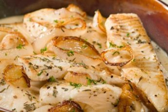 Рыба запеченная в соусе - вкуснотище