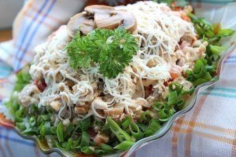 Уверяю Вас это самый вкусный салат в мире! Салат » Алекс»