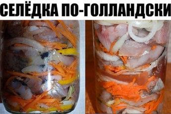 Возьмите на вооружение рецепт СЕЛЕДКИ ПО-ГОЛЛАНДСКИ. Такие банки опустошаются за раз! Эта рыбка со стола сметается в первую очередь.