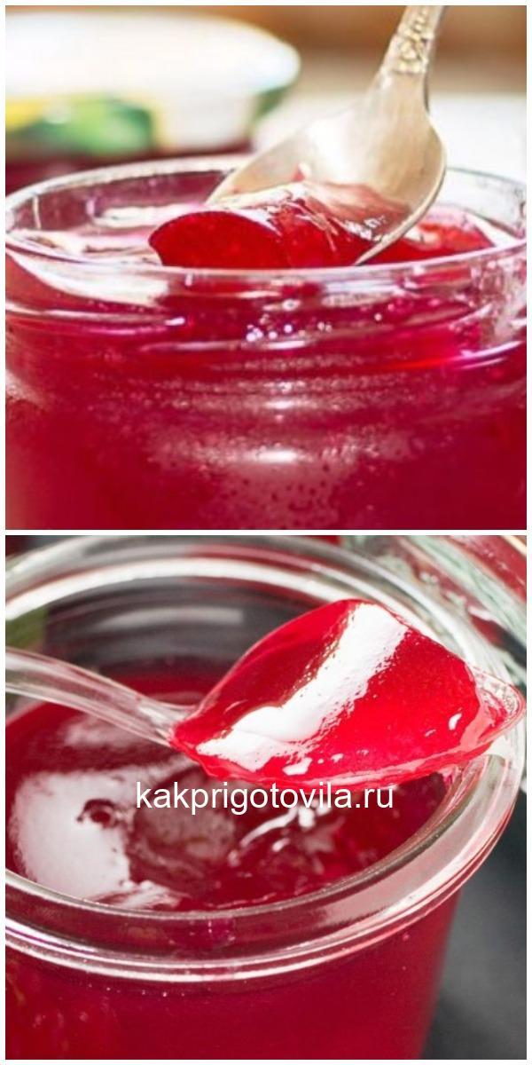 2 быстрых рецепта желе из красной смородины