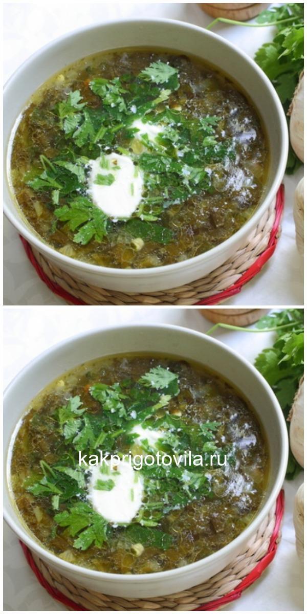 Настоящий, вкусный, бабушкин зеленый борщ «По белорусски»