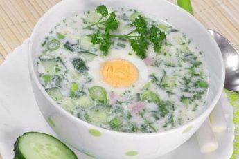 Топ-5 рецептов холодных летних супов