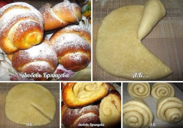 Надежный рецепт маминых плюшек