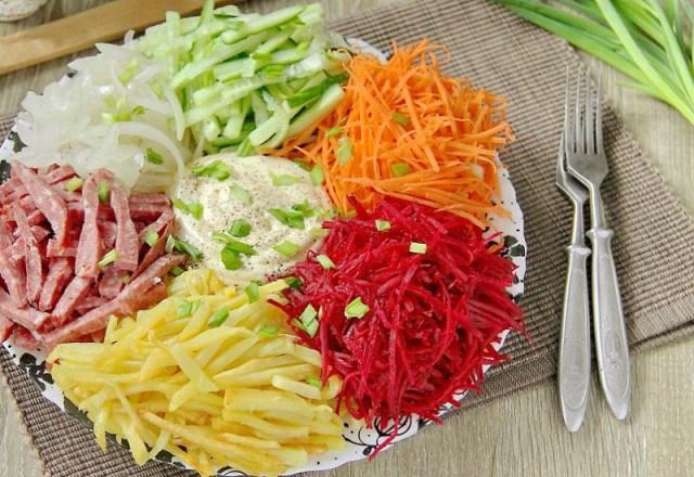 """Восхитительный салат """"Огоньки"""""""