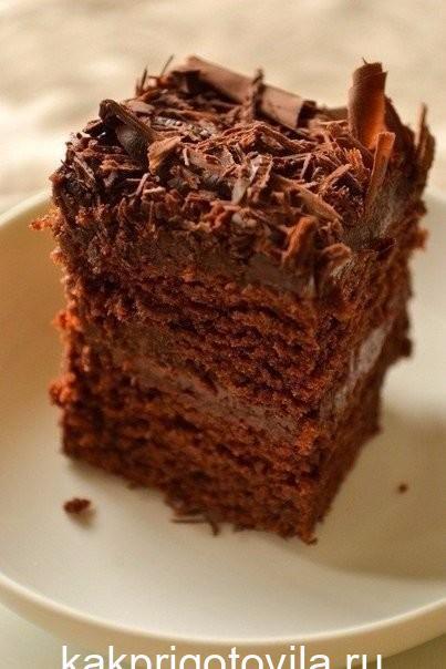 Супер-влажный шоколадный пирог (без яиц) - царь выпечки