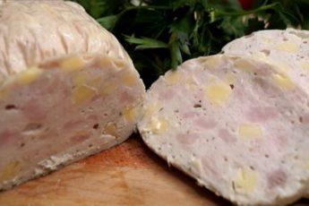 Быстрая домашняя колбаса. Готовится без специальных оболочек и приспособлений