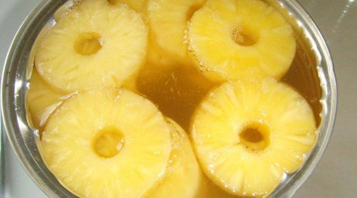 Маленький совет — хозяюшки, ВЫЛИВАЙТЕ ананасовый сок, не раздумывая!