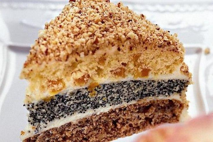 Торт «Сказка» трехслойный