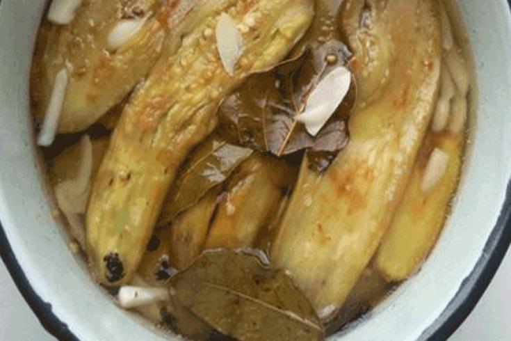 Закуска из маринованных баклажанов. Попробуйте сделать и этот рецептик точно у вас приживется