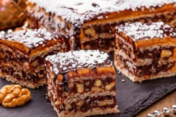 """Ммм... Вафельный торт """"Грильяж"""". Это НЕЧТО! Божественный вкус! Уверяю - стоит попробовать."""