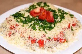 Загадочный салат с баклажанами: сразу и не догадаешься, из чего он