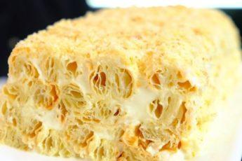 Торт из 3 ингредиентов – лучше Наполеона. Этот десерт – сама нежность!
