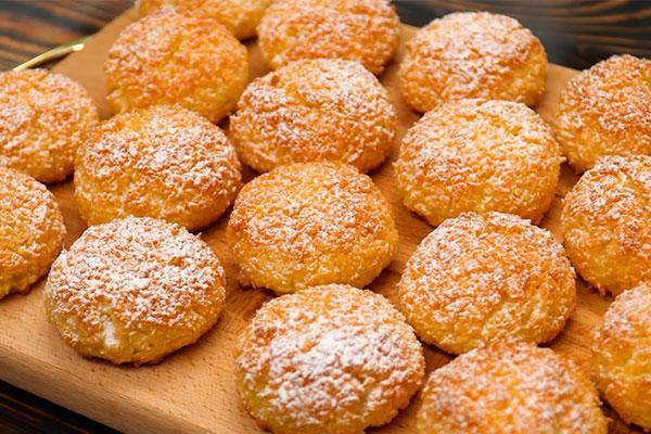 Восхитительное кокосовое печенье: всего 3 ингредиента 1