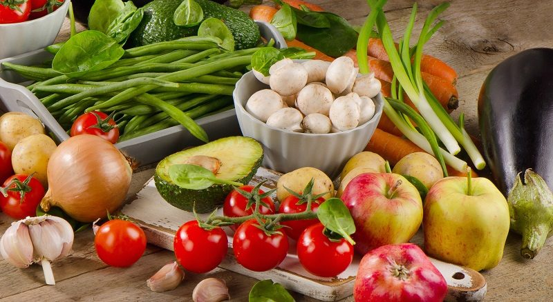 organic-vegetables-and-fruits-on-a-wooden-table-2
