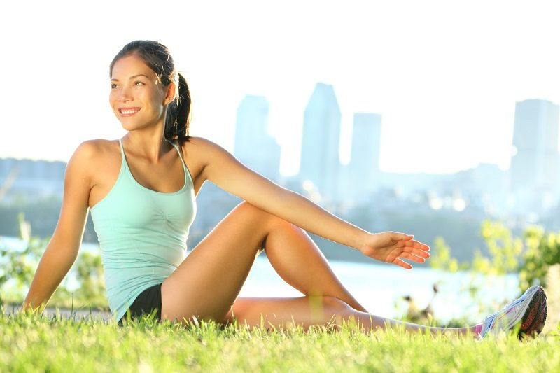 stretching-woman-in-outdoor-exercise