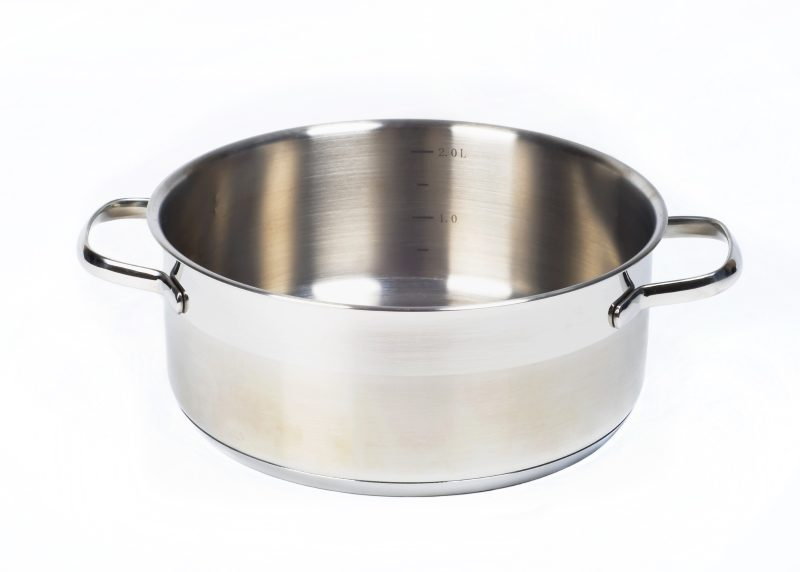 metal-capacity-pan-isolated-on-white-background